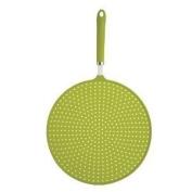 Kitchen Craft CWSPLATTERGRN Colourworks Silicone Splatter Guard - Green 28cm