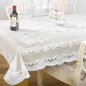 Chantal lace Table Cloth - 152cm x 229cm - White