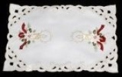 Pair of Table Placemats in a Celtic Christmas Design