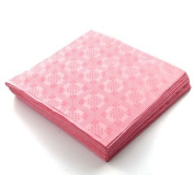 THE TABLECLOTH SHOP Candy Pink Paper Table Covers x 25