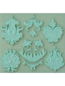 Design Element 1 - Silicone Icing Moulds for Cake and Cupcake Decoration