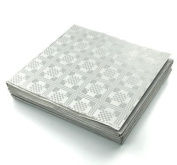 THE TABLECLOTH SHOP Silver Paper Table Covers x 25