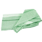 Wonderdry Tea Towels - Green. 95% cotton 5% polyester. Quantity