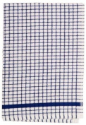 Lamont Poli Dri 100% Cotton Superior Quality Tea Towels, Blue - Pack of 12