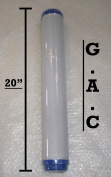 Reverse Osmosis 51cm Granular Activated Carbon Water filter for Water Fed Role / Stand Alone 51cm water filter Housing