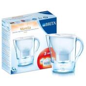 :Brita, 2.4l Marella Cool White Water filter + 3 Maxtra