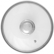 Ballarini Sipex 334F02.28 Glass Lid with Stainless Steel Rim 28 cm