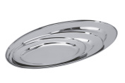 Equinox - 500538 - Set of 3 Oval Dishes - Stainless Steel