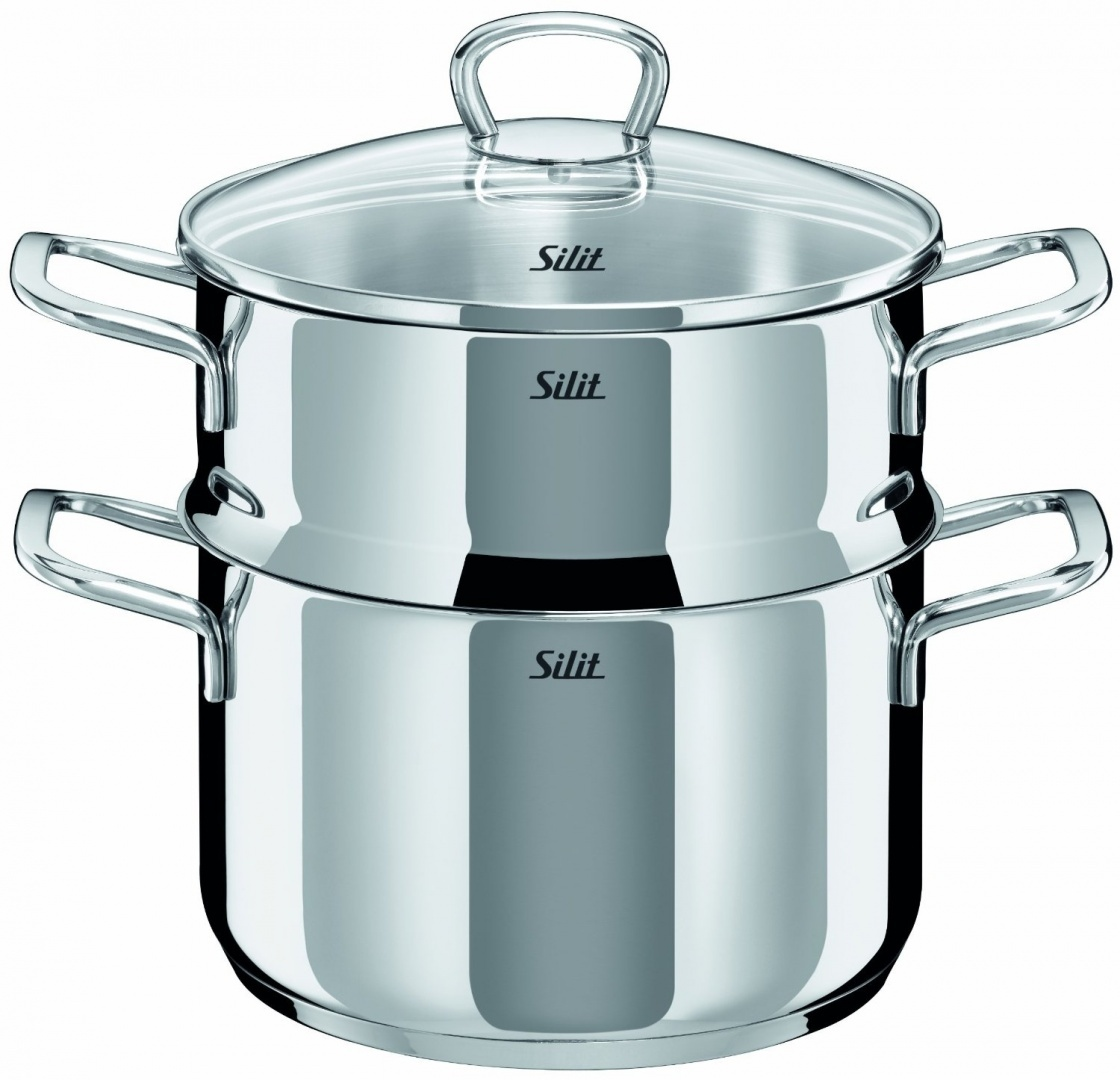 Silit 0720.6043.11 Steamer 20 cm with Lid Style by Silit - Shop ...