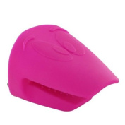 New Zeal Kitchen Hot Pink Thick Silicone Oven Glove Funky Pot Grabber Mad Mitt