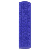 New Cks Zeal Purple Funky Heat Resistant Silicone Secure Grip Pan Handle Cover