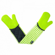 New Zeal Kitchen Steam Stop Waterproof Mitts Silicone & Cotton Double Oven Glove