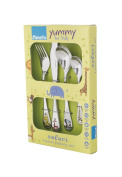 Amefa Kids Safari Kids Cutlery Set Stainless Steel 4 Piece