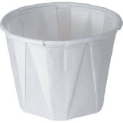 1 oz Paper Soufflé Cup Dry Waxed White Pack Of 250