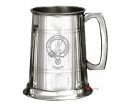 Spens Clan Crest Tankard 1 Pint Pewter