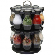 16 Piece Revolving Spice Jar Rack