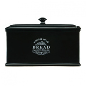 Vintage Home Bread Box Made Of Ceramic Material & Black Edition Colour