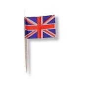 200 x Union Jack Sandwich Flags Picks 70mm, Great idea for the Royal Wedding