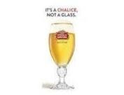 STELLA ARTOIS CHALICE PINT GLASSES X 4. CE 1 PINT / 20FL OZ / 568ML