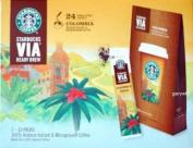 Starbucks Coffee Via Ready Brew Instant Colombian Coffee 24 Sachets Medium
