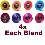 LAVAZZA A MODO MIO Coffee Capsules Variety Pack - 4x Each Blend