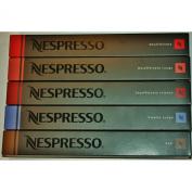 50 Nespresso Capsules Decaffeinato Mixed Variety