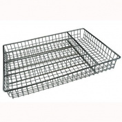 Mesh Chrome Cutlery Tray Kitchen Drawer Tidy Organiser