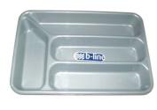 Grey Cutlery Tray 24 x 35.5 cm