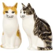 Quail Ceramics - Cat Salt And Pepper Pots - Edith & Squash