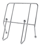 Premier Housewares Cookbook Stand, Chrome