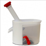 Cherry Stoner with Suction Cup and Collecting Container - Plastic Cherry Pit Remover