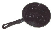 4 Hole Egg Poaching Pan & Lid