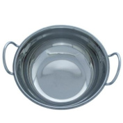 Indian Restaurant Style Stainless Steel 19cm Balti Dish