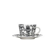 Iittala Taika Black Coffee/Cappuccino Cup Saucer