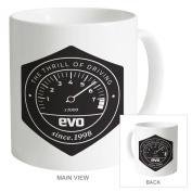 Evo Emblem Mug, White