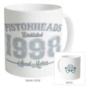 PistonHeads Baseball Mug, White, N/A