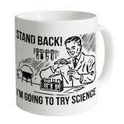 Science Mug, White