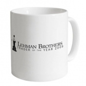 Square Mile Lehman Brothers Mug, White