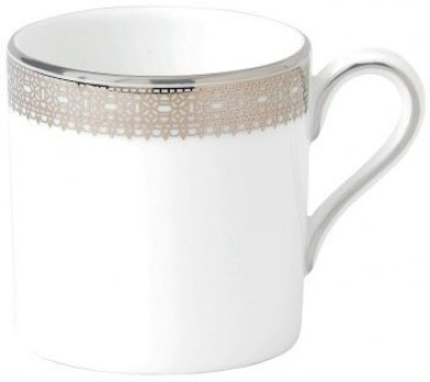 Wedgwood Vera Wang Lace Platinum Coffee Cup 0.08ltr