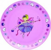 Miniamo Fluttercup and Friends Melamine Plate