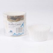 Pack of 75 White Muffin Cases
