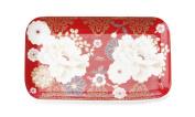 Maxwell & Williams Kimono 29.5cm x 15cm Cake Tray in Red - Gift Boxed