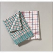 Robinson Young Tea Towels Chequered Ref 0311 [Pack 10]