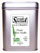 Simpli-Special Peony White Needle Very Rare China White Tea 50 g in Gift Caddy
