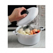 Micro Master Microwave Pressure Cooker Casserole Dish & Locking Lid