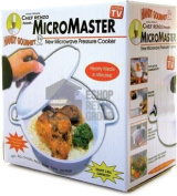 MicroMaster Microwave Pressure Cooker - Microwaveable Casserole Dish With Tightly Locking Lid And Pressure Release Vent