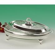 Casserole Dish in Serving Frame British Made,
