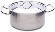 Sitram Pro1 24 cm 5.10 Litre Casserole Not High with Lid