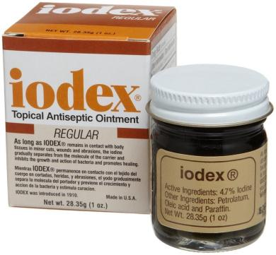 Lee Pharmaceuticals Iodex, 30ml Jar