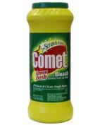 Comet Lemon Fresh Powder Cleanser with Bleach